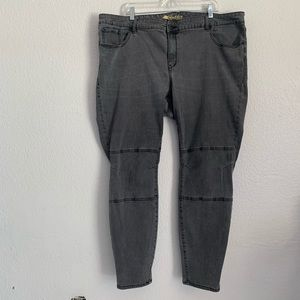 Old Navy | Rockstar skinny gray jeans 24 Plus